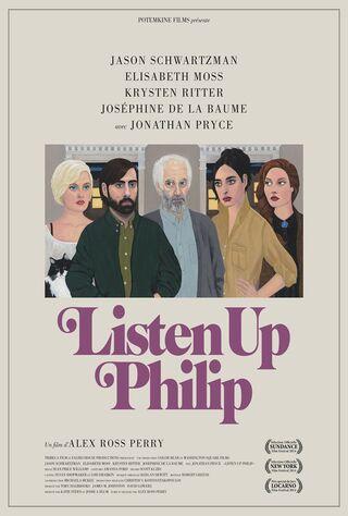 Listen Up Philip (2014) Main Poster