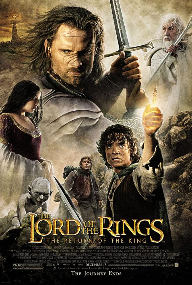 The Lord of the Rings: The Return of the King (2003) Main Poster