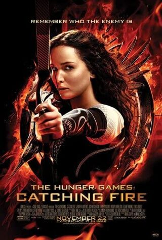 The Hunger Games: Catching Fire (2013) Main Poster