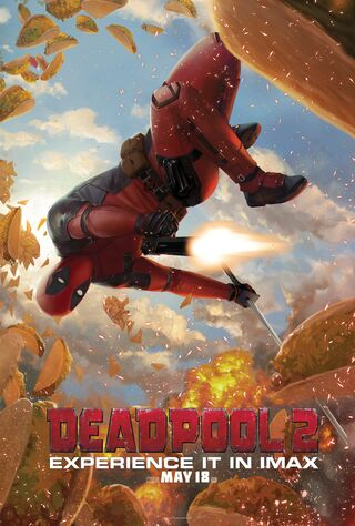 Deadpool 2 (2018) Main Poster