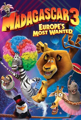 Madagascar 3: Europe's Most Wanted (2012) Main Poster