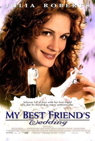 My Best Friend's Wedding (1997) Main Poster