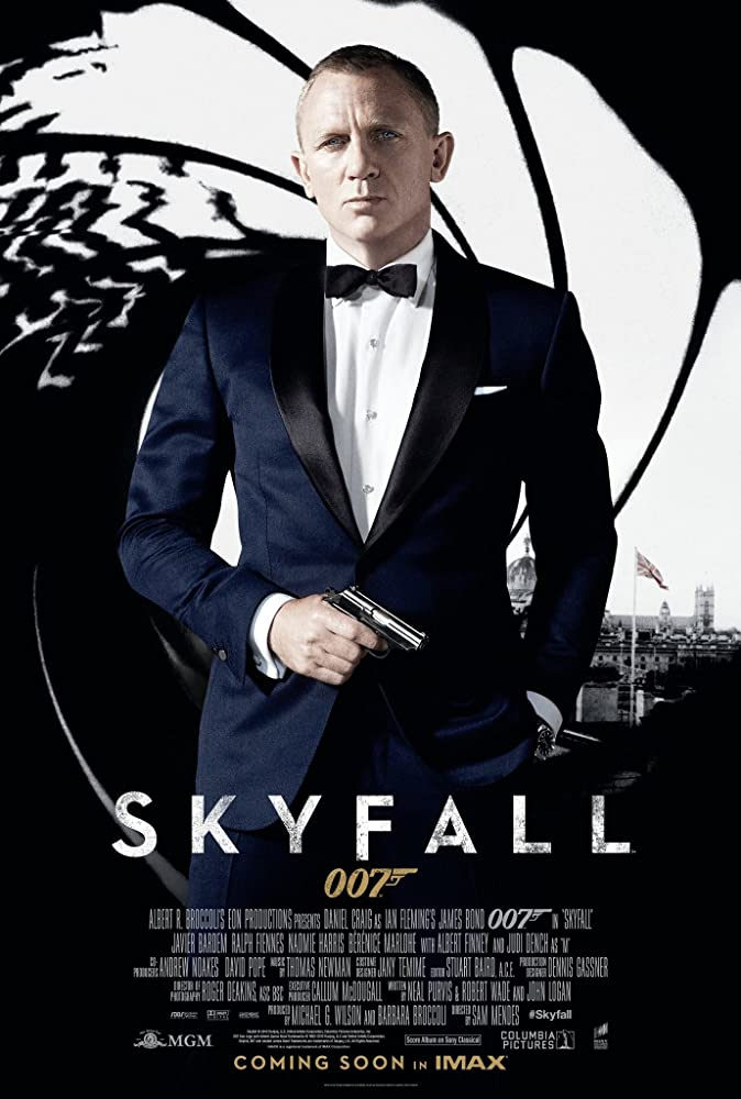 Skyfall (2012) Main Poster