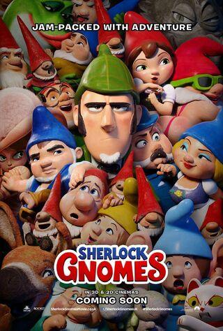 Sherlock Gnomes (2018) Main Poster