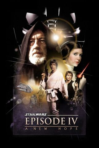 Star Wars Episode IV: A New Hope (1977) Main Poster