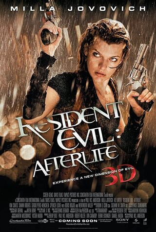 Resident Evil: Afterlife (2010) Main Poster