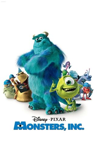 Monsters, Inc. (2001) Main Poster
