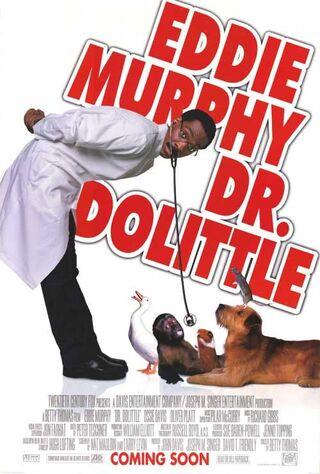 Doctor Dolittle (1998) Main Poster