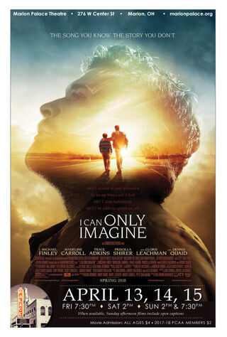 I Can Only Imagine (2018) Main Poster