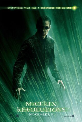 The Matrix Revolutions (2003) Main Poster