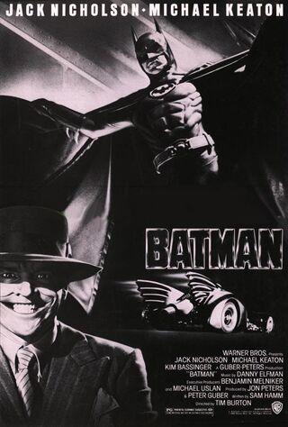 Batman (1989) Main Poster