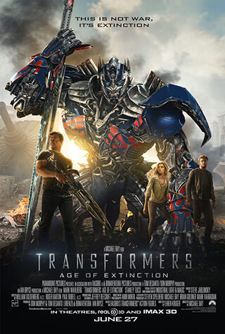 Transformers: Age of Extinction (2014) Main Poster
