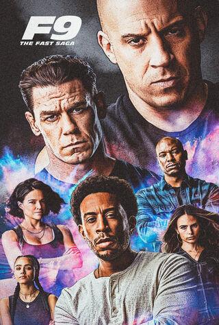 F9: The Fast Saga (2021) Main Poster