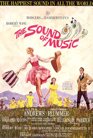 The Sound Of Music (1965) Main Poster