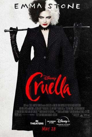 Cruella (2021) Main Poster