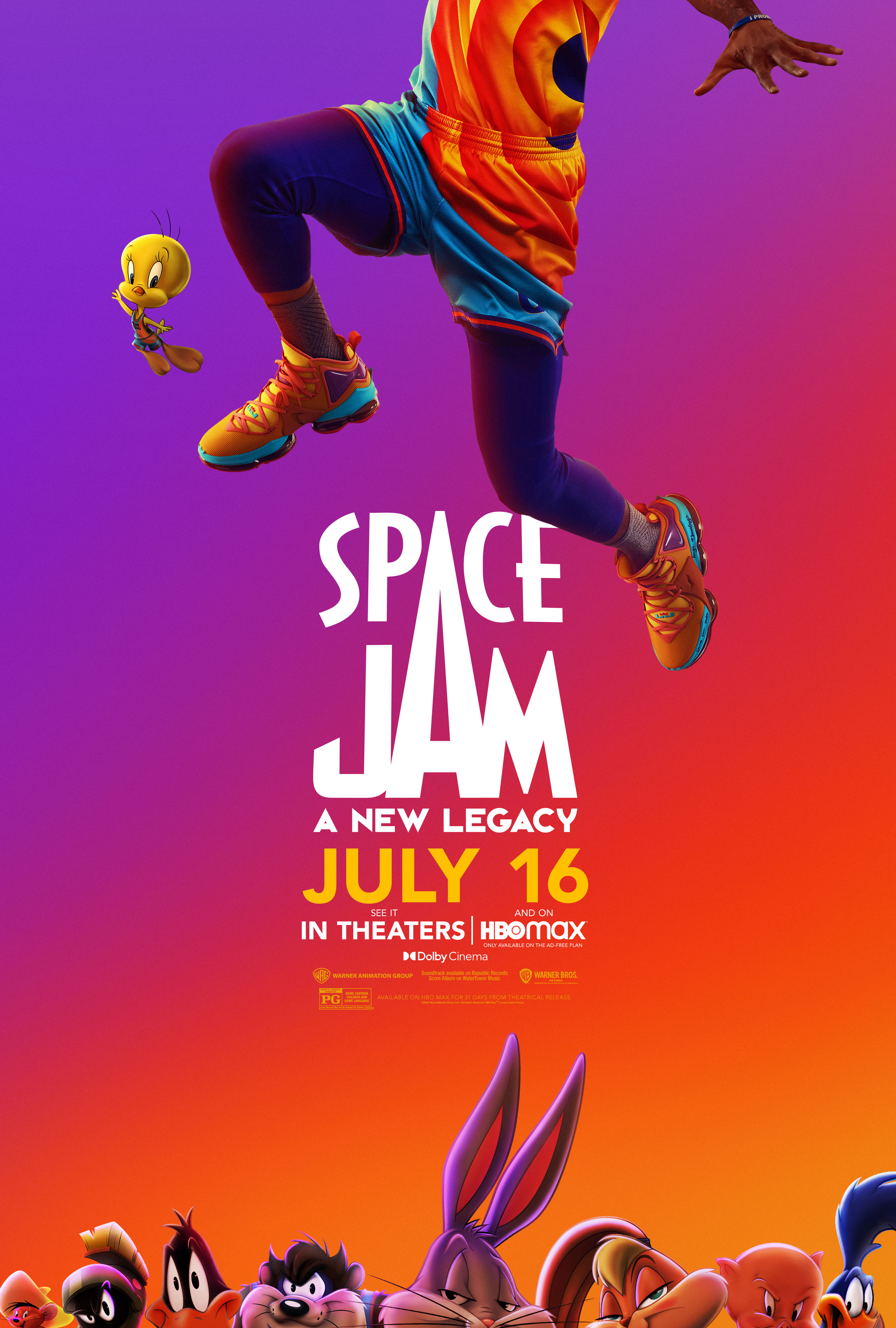 Space Jam: A New Legacy Main Poster