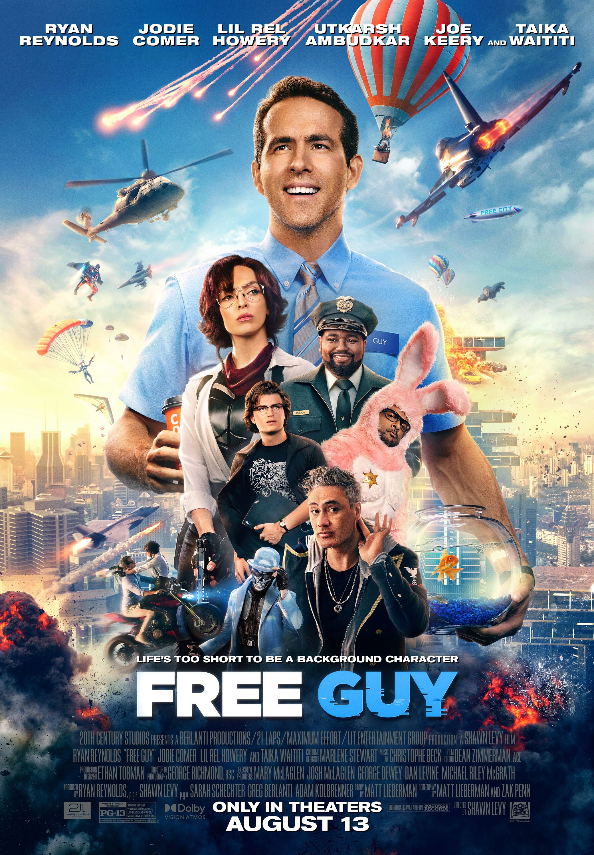 Free Guy (2021) Main Poster