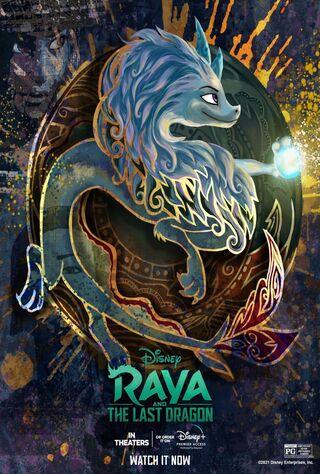 Raya And The Last Dragon (2021) Main Poster