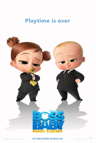 The Boss Baby: Family Business (2021) Main Poster