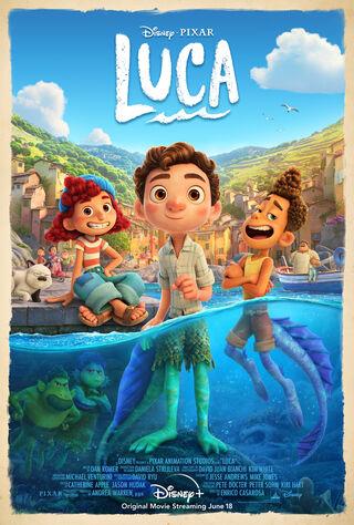 Luca (2021) Main Poster