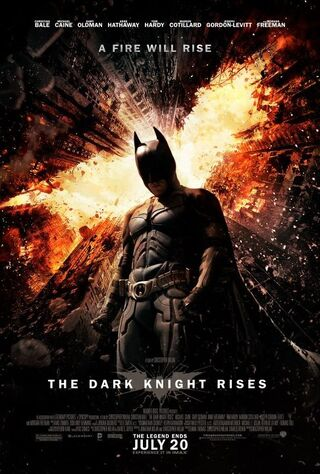 The Dark Knight Rises (2012) Main Poster