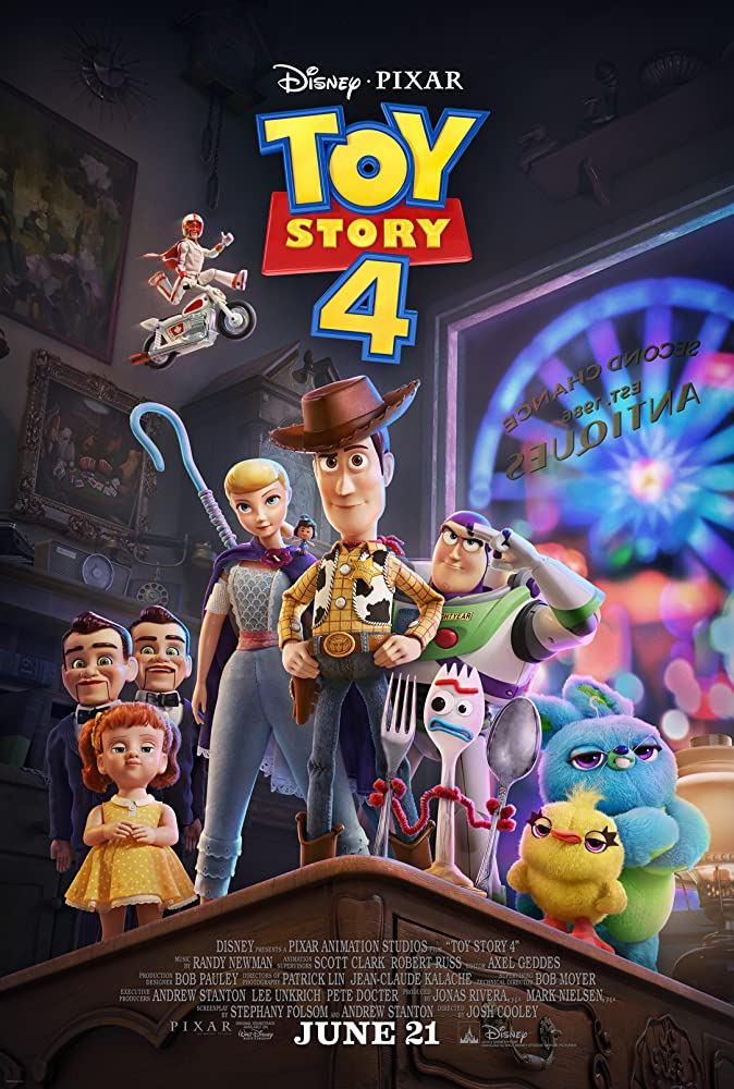 Toy Story 4 (2019) Main Poster