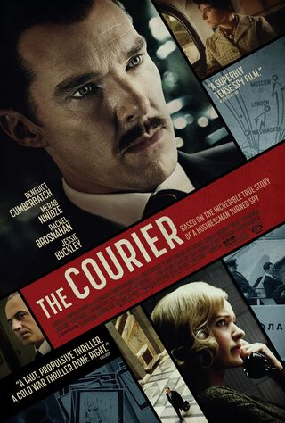 The Courier (2020) Main Poster