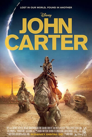 John Carter (2012) Main Poster