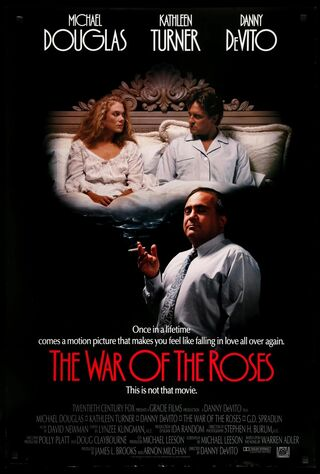 The War Of The Roses (1989) Main Poster