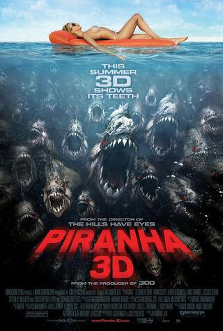 Piranha 3D (2010) Main Poster