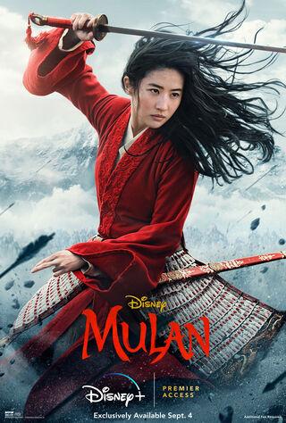 Mulan (2020) Main Poster