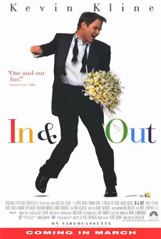 In & Out (1997) Main Poster