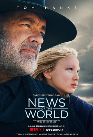 News Of The World (2020) Main Poster