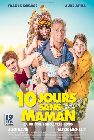 10 Days With Dad (2020) Main Poster