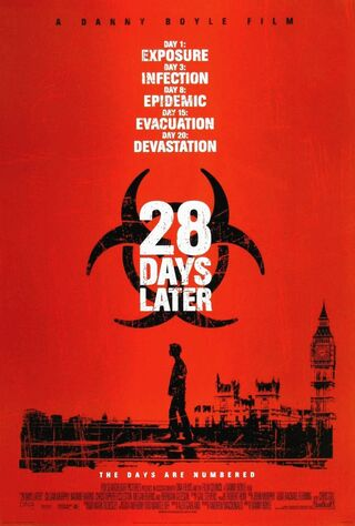 28 Days Later... (2003) Main Poster