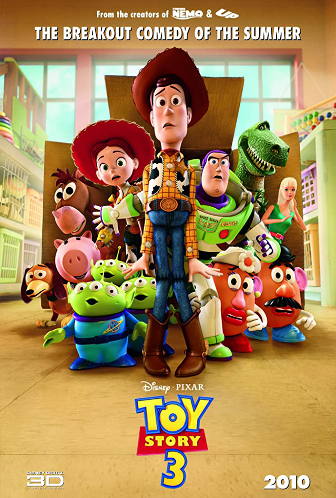 Toy Story 3 (2010) Main Poster
