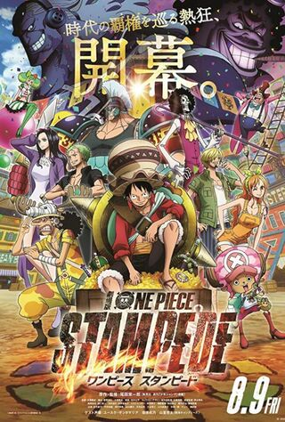 One Piece: Stampede (2019) Main Poster