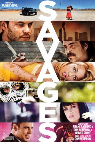 Savages (2012) Main Poster