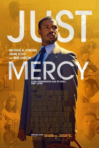 Just Mercy (2019) Main Poster