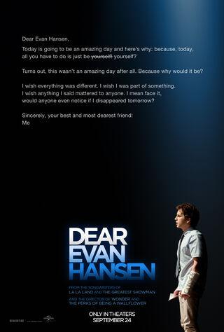 Dear Evan Hansen (2021) Main Poster