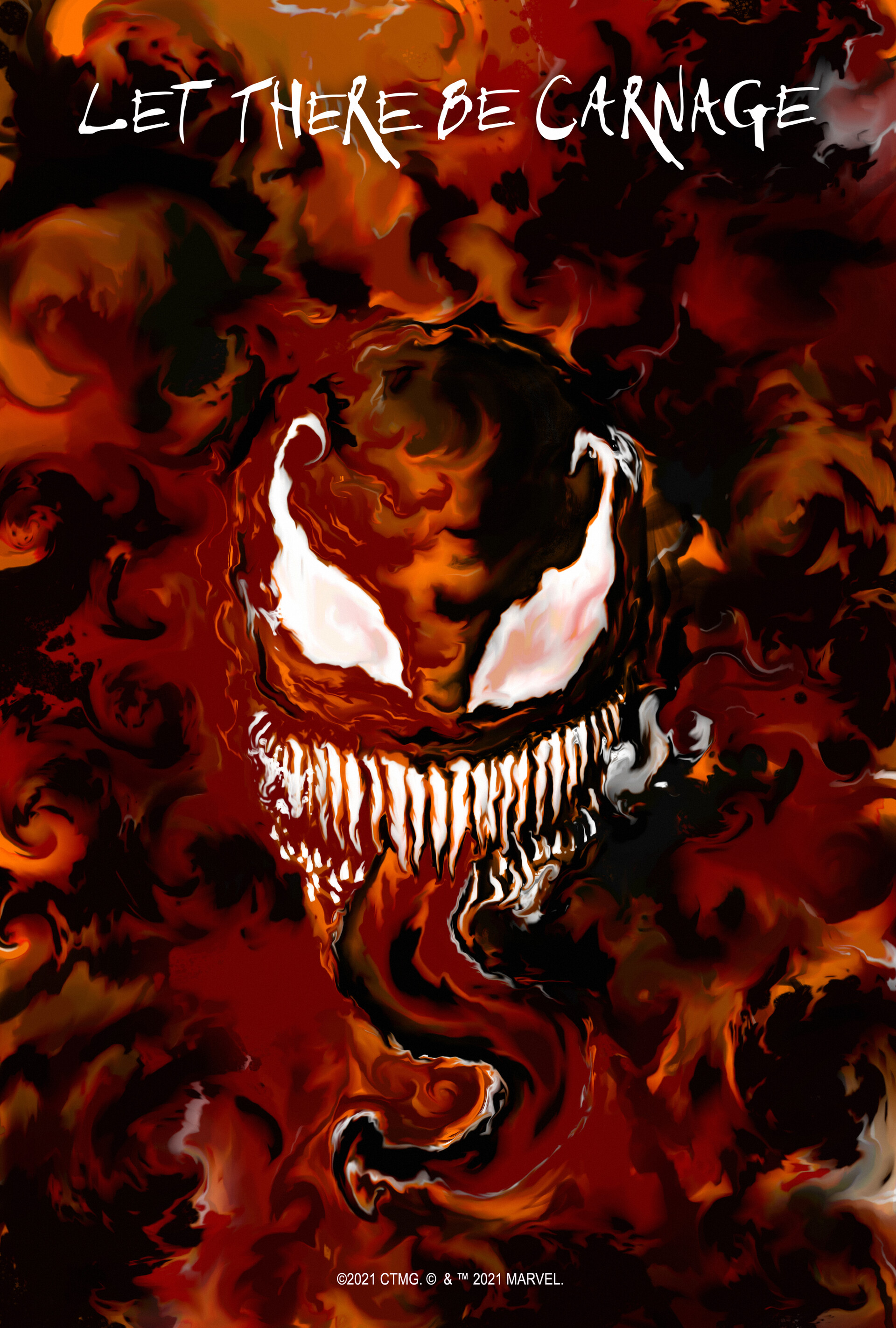 Venom: Let There Be Carnage (2021) Main Poster