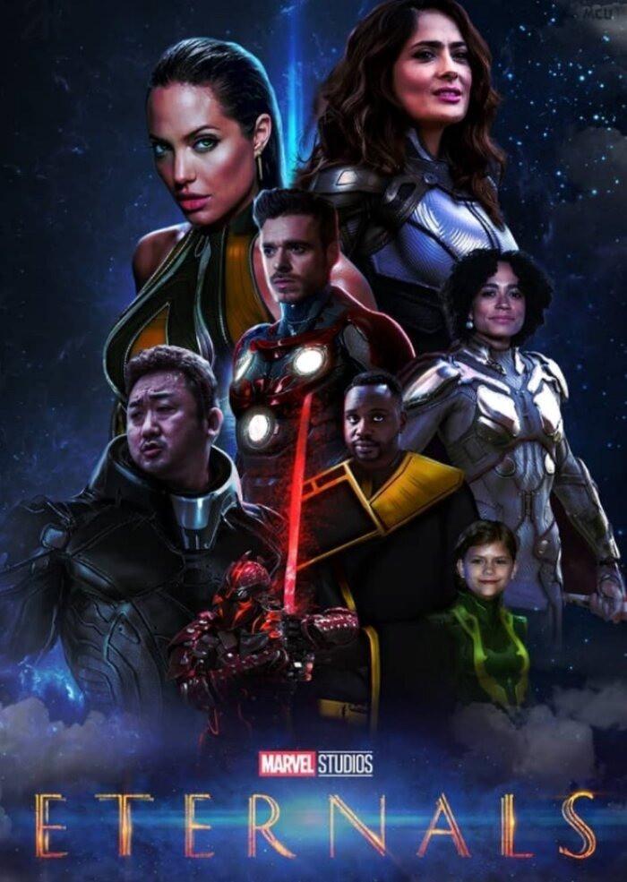 Eternals (2021) Poster #6
