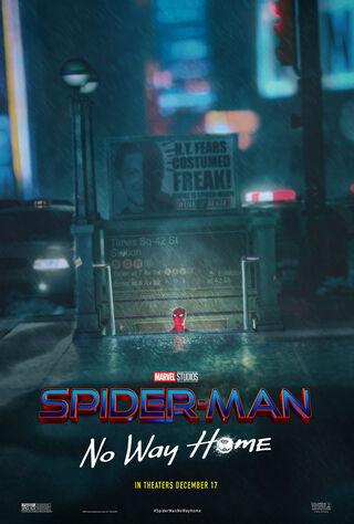 Spider-Man: No Way Home (2021) Main Poster