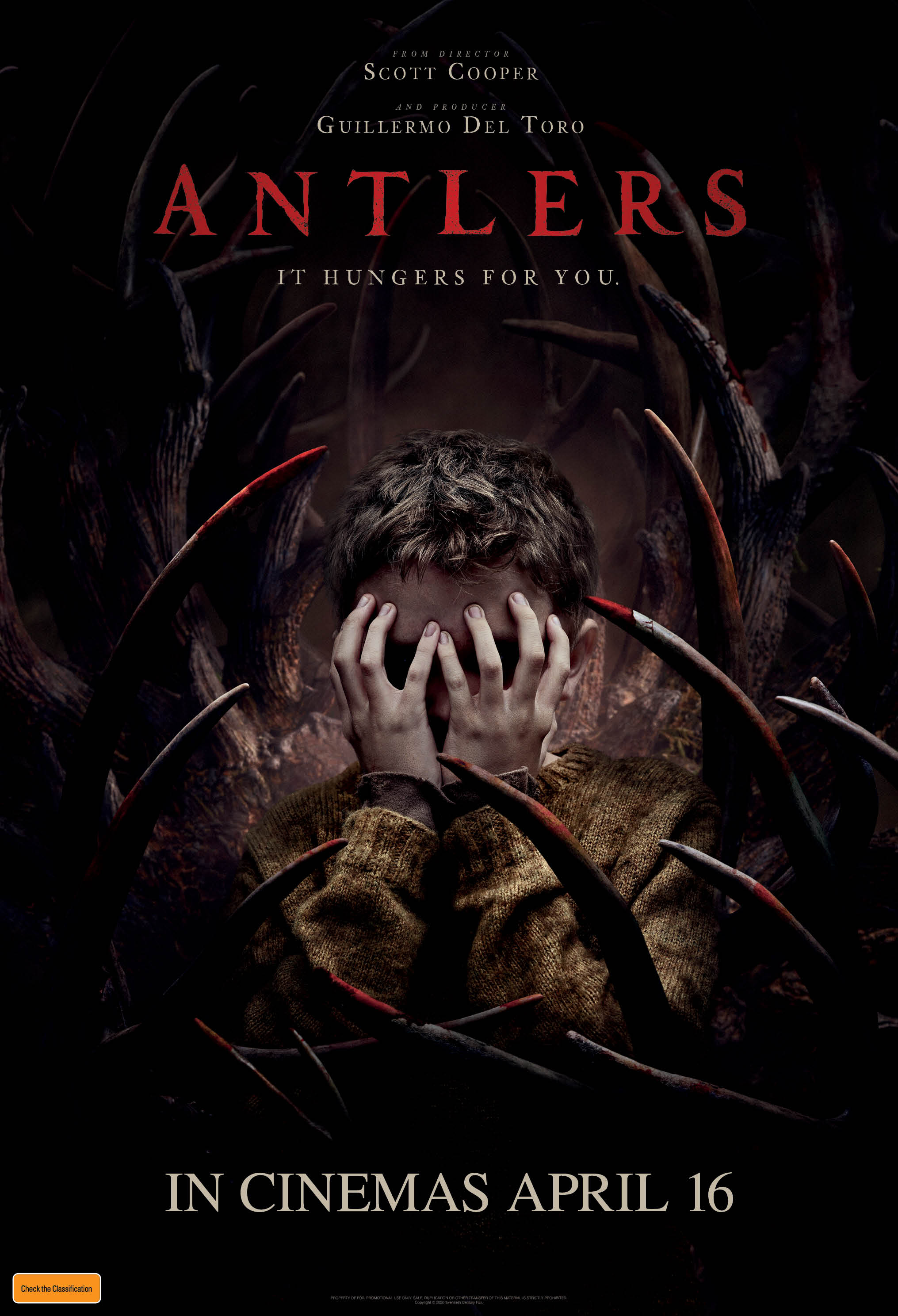 Antlers (2021) Main Poster