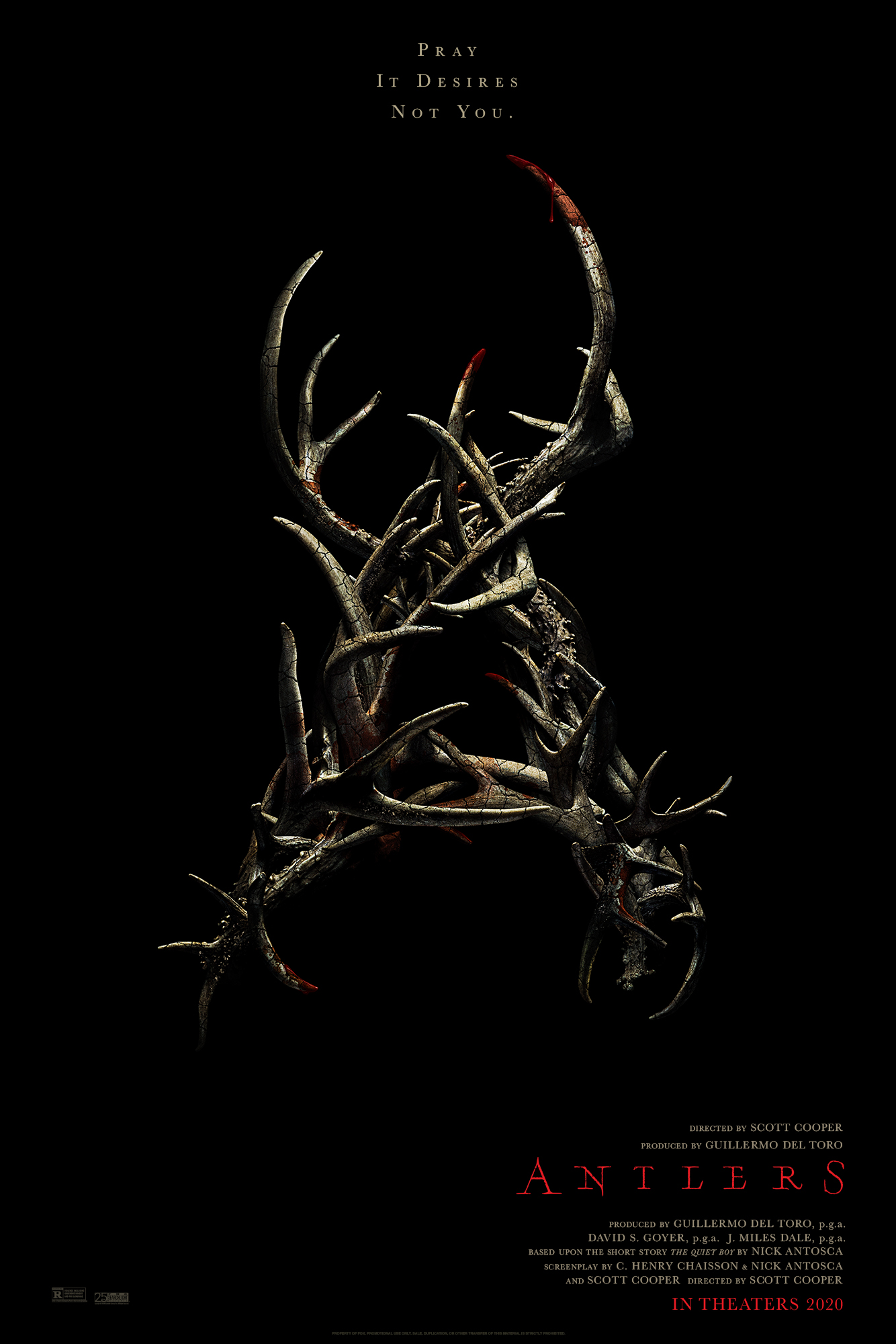 Antlers (2021) Poster #2