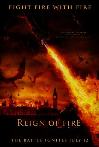 Reign Of Fire (2002) Main Poster