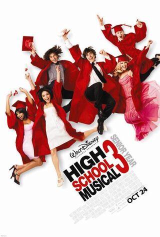 High School Musical 3 (2008) Main Poster