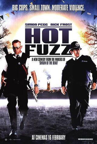 Hot Fuzz (2007) Main Poster