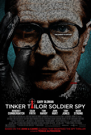 Tinker Tailor Soldier Spy (2012) Main Poster
