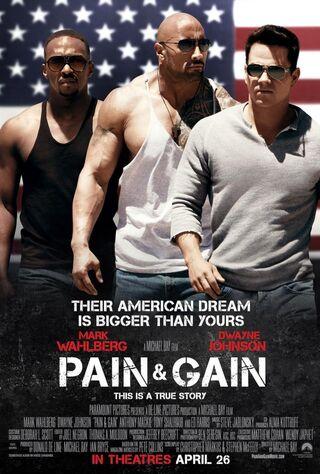 Pain & Gain (2013) Main Poster